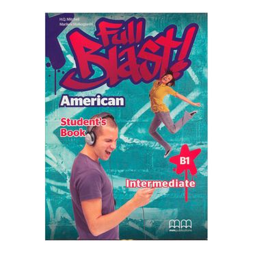 full-blast-american-intermediate-b1-students-book