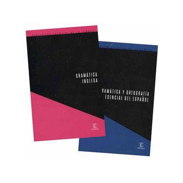 biblioteca-esencial-de-la-lengua-gramatica-y-ortografia-esencial-del-espanol-gramatica-inglesa-2-tomos-458984
