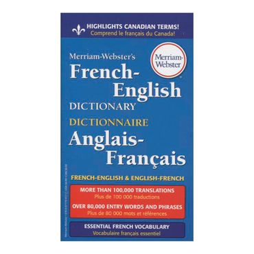 dictionary-french-english-anglais-francais-5-9780877799177