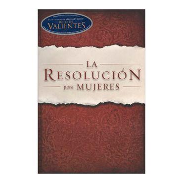 la-resolucion-para-mujeres-4-9781433674655