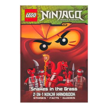 lego-ninjago-snakes-in-the-grass-and-the-bravest-ninja-of-all-2-in-1-ninja-handbook-1-9781409313984