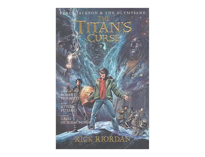 the-titans-curse-percy-jackson-the-olympians-4-9781423145301