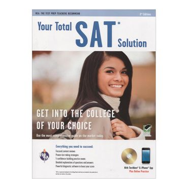 your-total-sat-solution-3rd-edition-8-9780738608693