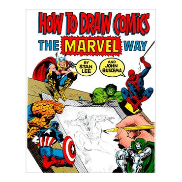 how-to-draw-comics-the-marvel-way-8-9780671530778