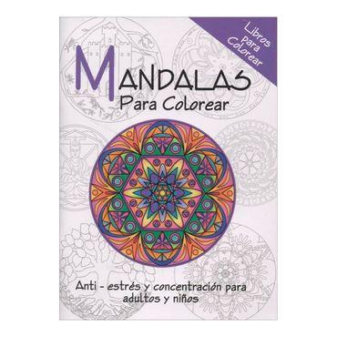 Jardín de mandalas. Libro para colorear - Panamericana