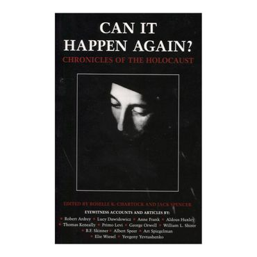 can-it-happen-again-chronicles-of-the-holocaust-9781579122089