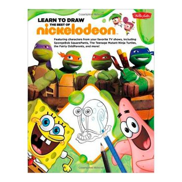 learn-to-draw-the-best-of-nickelodeon-featuring-characters-from-your-2-9781600583438