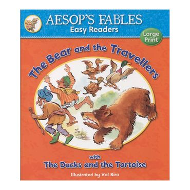 the-bear-and-the-travellers-with-the-ducks-and-the-tortoise-aesops-fables-easy-readers-4-9781841359595