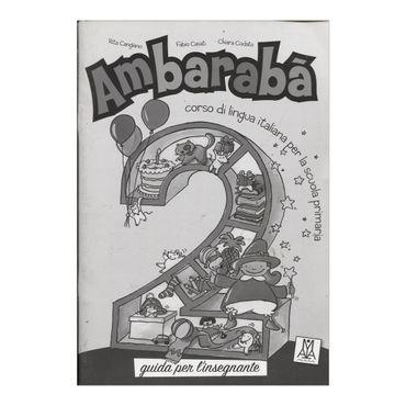 ambaraba-2-guida-per-linsegnante-2-9788889237885