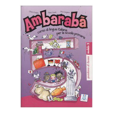 ambaraba-5-quaderno-di-lavoro-modulo-3-9-9788861821996