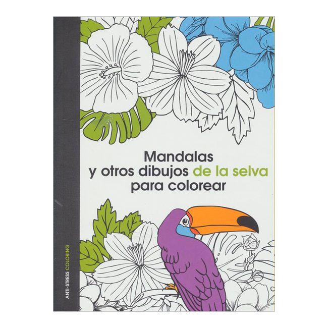 Mandalas y otros dibujos de la selva para colorear - Panamericana