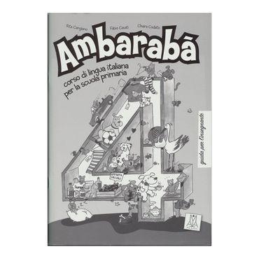 ambaraba-4-guida-per-linsegnante-9-9788861820876