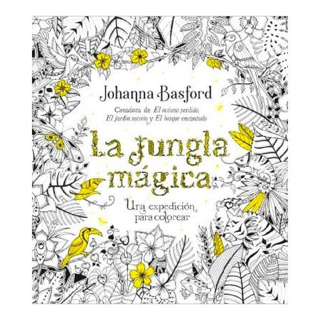 La jungla mágica. Una expedición para colorear - Panamericana