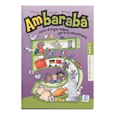 ambaraba-5-quaderno-di-lavoro-modulo-2-9-9788861820111