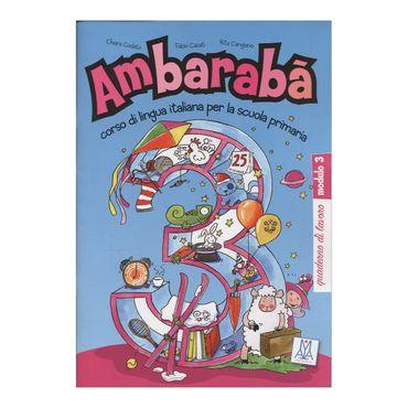 ambaraba-3-quaderno-di-lavoro-modulo-3-9-9788861820722