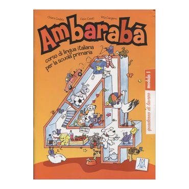 ambaraba-4-quaderno-di-lavoro-modulo-1-9-9788861820821