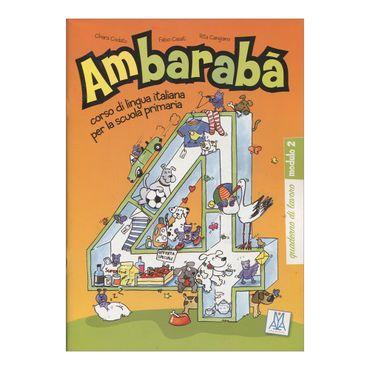 ambaraba-4-quaderno-di-lavoro-modulo-2-9-9788861820838