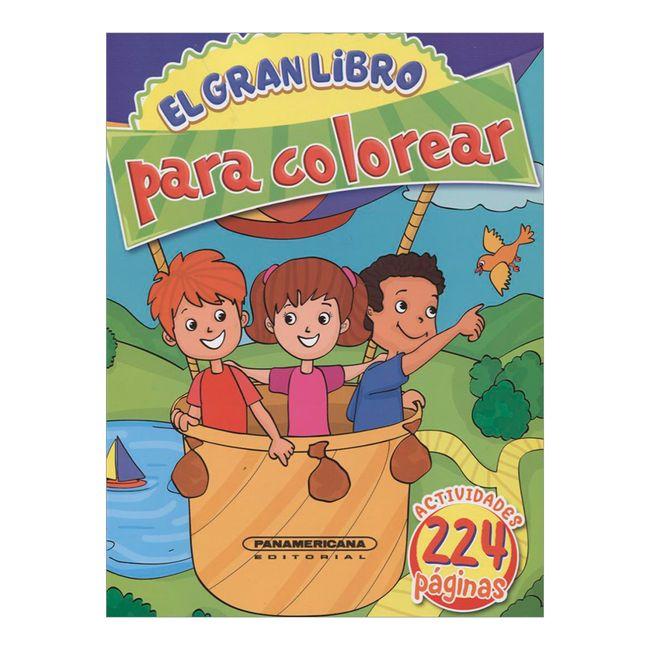 El gran libro para colorear - Panamericana
