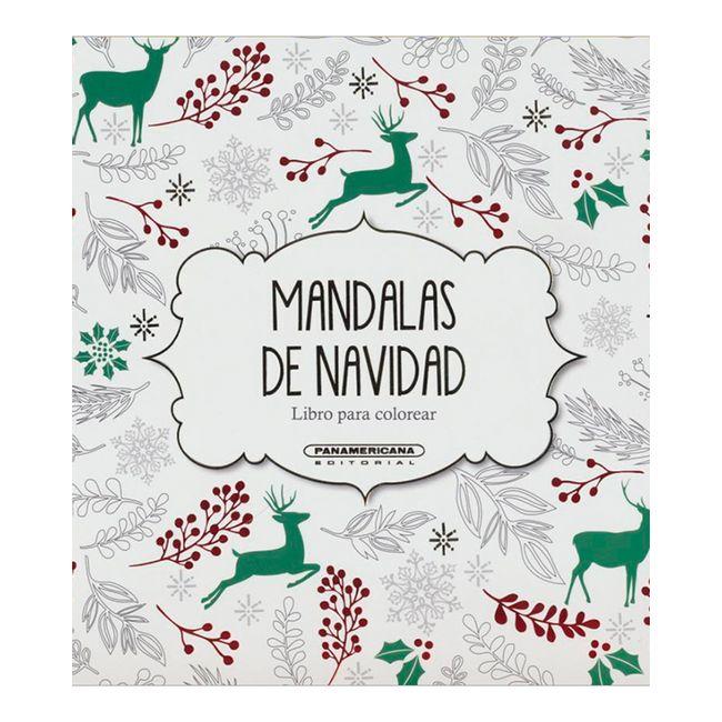 Mandalas de Navidad. Libro para colorear - Panamericana