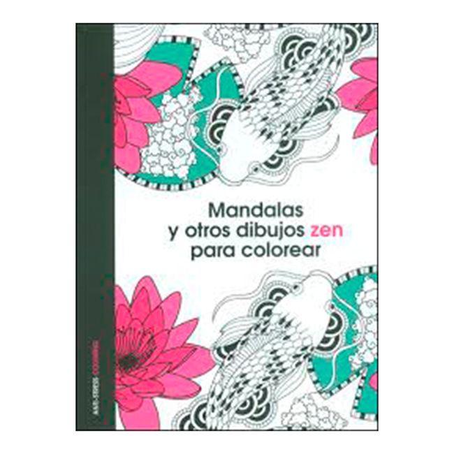 Mandalas y otros dibujos Zen para colorear - Panamericana
