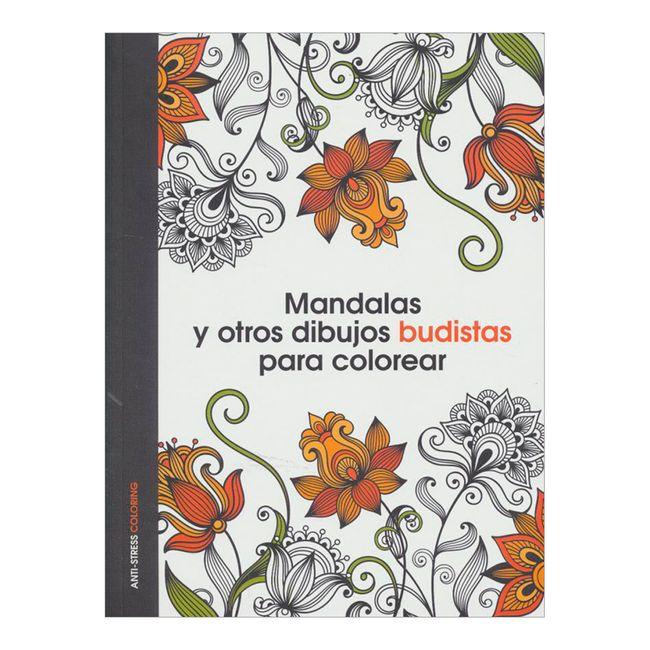 Mandalas y otros dibujos budistas para colorear - Panamericana