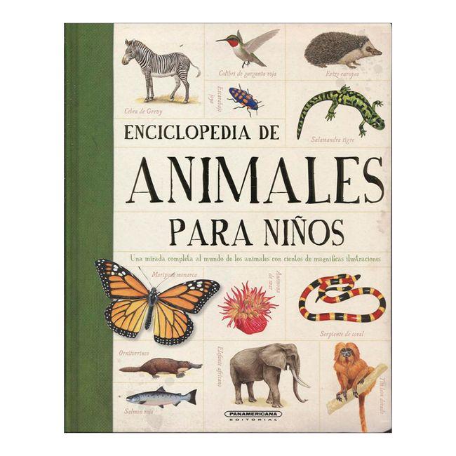 Enciclopedia de animales para niños - Panamericana