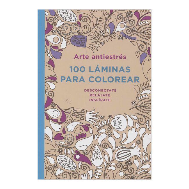 100 láminas para colorear. Arte antiestrés - Panamericana