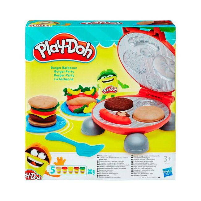 Plastilina play doh set de hamburguesa panamericana - Cocina play doh ...