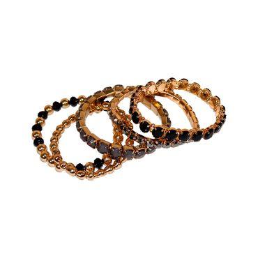 set-de-pulseras-x-5-uds-con-piedras-color-dorado-y-negro-1-7701016813532