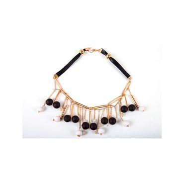 be315e3b19e4 Collar de 6 lazos con colgante circular - Panamericana