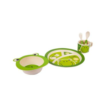 set-de-vajilla-infantil-circular-x-5-piezas-rana-1-7701016054256