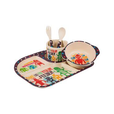 set-de-vajilla-infantil-rectangular-x-5-piezas-robot-1-7701016054270