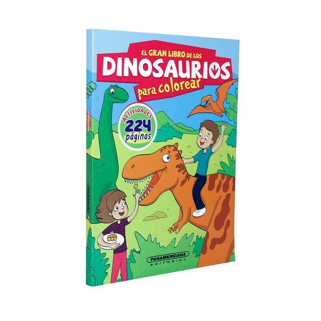 El gran libro de los dinosaurios para colorear - Panamericana