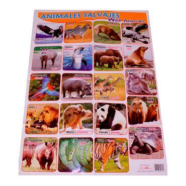 lamina-sobre-animales-salvajes-en-ingles-y-espanol-1-7707265505891