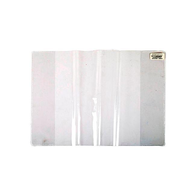 Forro para cuaderno grapado: vinilo transparente con formas y ...
