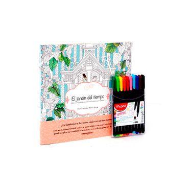 libro-de-jardin-del-tiempo-con-10-micropuntas-1-7705053049664