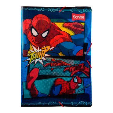 carpeta-plastica-scribe-diseno-spiderman-3-7707668557909