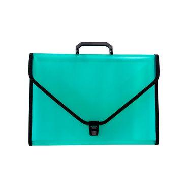 archivador-de-fuelle-con-13-divisiones-hecho-de-polipropileno-color-verde-translucido-tamano-oficio-con-broche-1-7707349910108