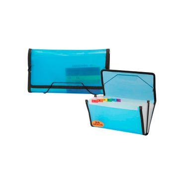 archivador-de-fuelle-media-carta-con-26-divisiones-color-azul-translucido-1-7707349911280