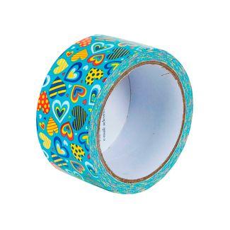 cinta-multiusos-decorativa-con-diseno-de-corazones-multicolores-sobre-fondo-azul-1-7701016883801