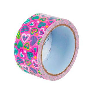 cinta-multiusos-decorativa-con-diseno-de-corazones-multicolores-sobre-fondo-fucsia-1-7701016883825