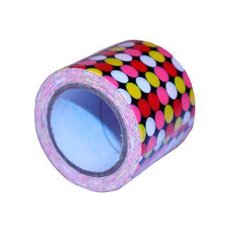 cinta-multiusos-decorativa-con-diseno-de-puntos-de-colores-sobre-fondo-negro-1-7701016882606