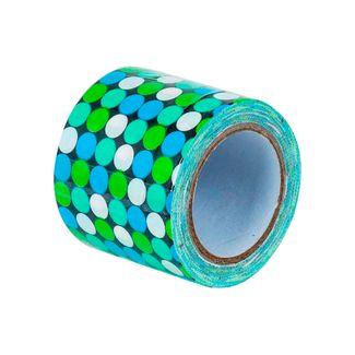 cinta-multiusos-decorativa-diseno-de-puntos-azules-verdes-y-blancos-sobre-fondo-negro-1-7701016882613