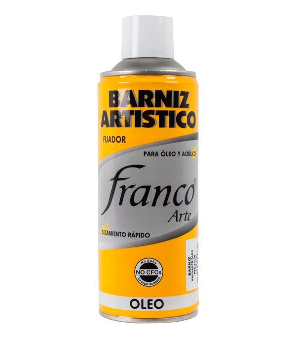 Fijador Artístico Brillante Para óleo De 300 Ml Franco Arte Panamericana