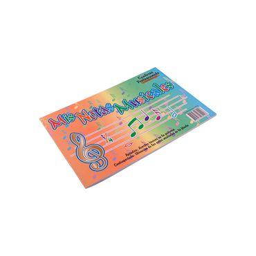 Cuaderno de música Armonía color azul - Panamericana