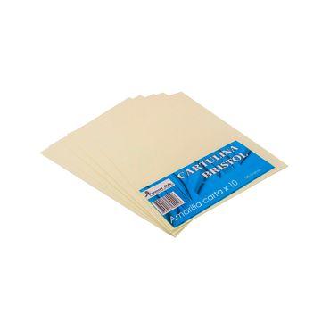 cartulina-bristol-amarilla-tamano-carta-x-10-uds-1-7704147600026