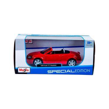 carro-de-coleccion-audi-tt-roadster-124-maisto-rojo-90159319788