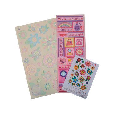 sticker-adhesivo-laser-bubble-flower-1-7707234488538