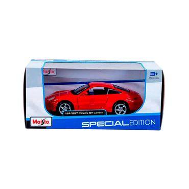 carro-de-coleccion-1997-porsche-911-carrera-124-maisto-rojo-90159319382