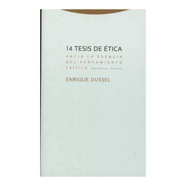 14-tesis-de-etica-hacia-la-esencia-del-pensamiento-critico-2-9788498796353
